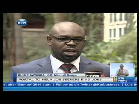 Private sector come up with portal to curb unemployment in Kenya