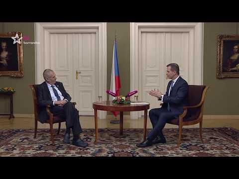 Týden s prezidentem (15.2.2018) - Zeman nejen o podpoře kardinála Duky a katolických pisklounech