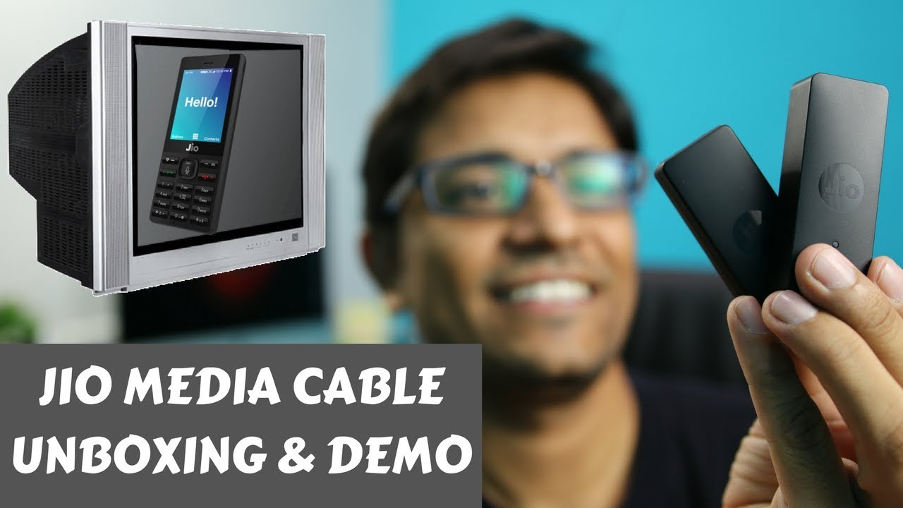 Jio Media Cable For Phone 4g Unboxing Tv Demo Phoneradar Kabel Rca 3 Ke Male Kitani Sj0039