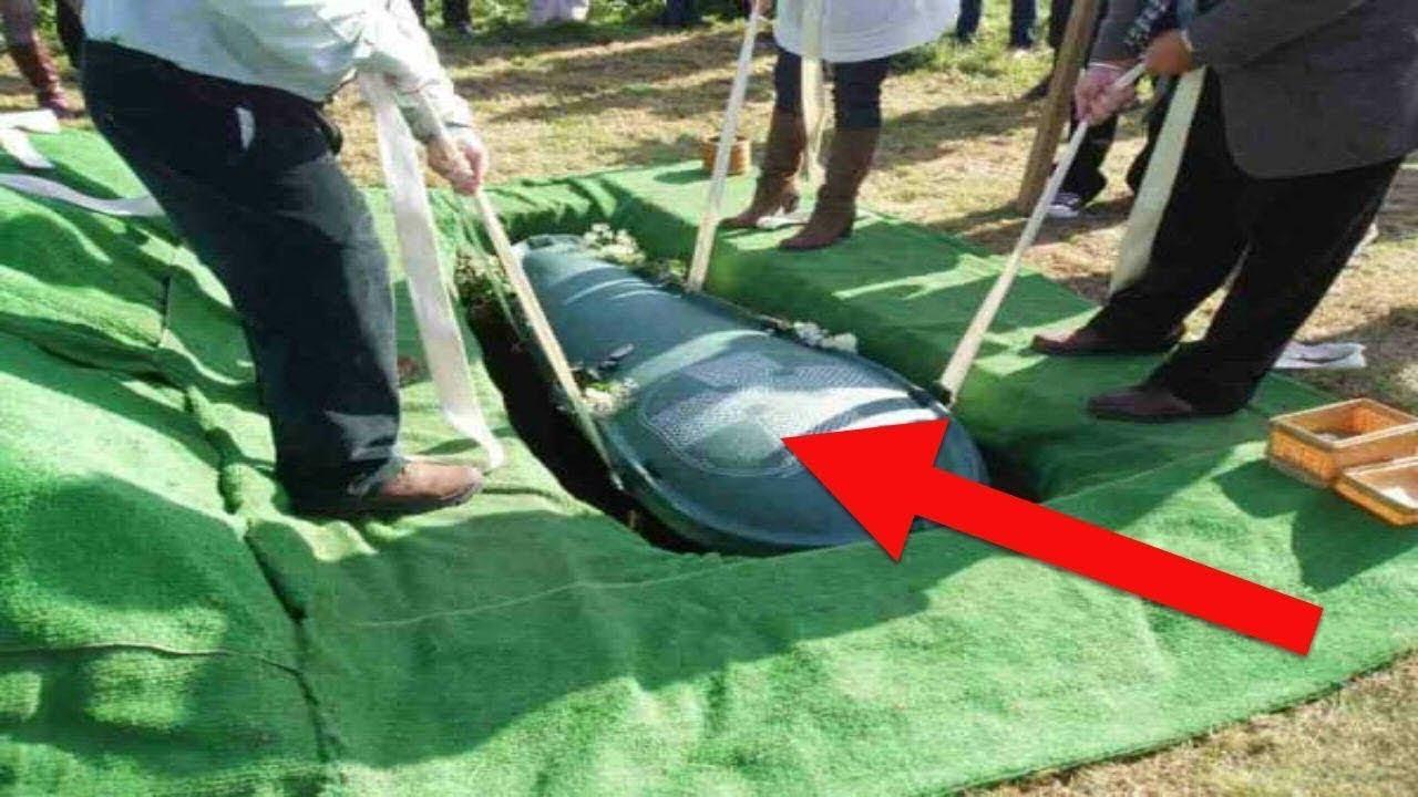Муж хотел, чтобы его похоронили со всеми деньгами. И вот, что сделала его жена!