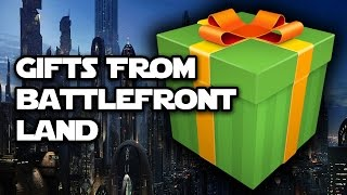 Gifts and Greetings from Star Wars Battlefront Land (aka Sweden)