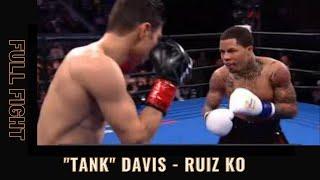 Gervonta Davis vs Hugo Ruiz FULL FIGHT TKO (09-02-2019)