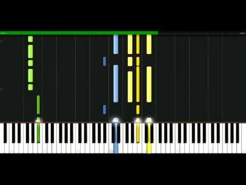 Cranberries - Yeats Grave [Piano Tutorial] Synthesia | passkeypiano