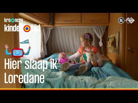 🛏 Hier slaap ik – Loredane (Kindertijd KRO-NCRV)