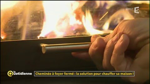 chemin e foyer ferm la solution pour chauffer sa maison la quotidienne youtube. Black Bedroom Furniture Sets. Home Design Ideas