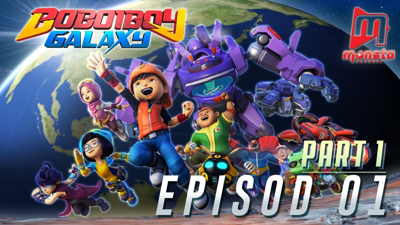 BoBoiBoy Galaxy  Episod 01 Part 1  YouTube