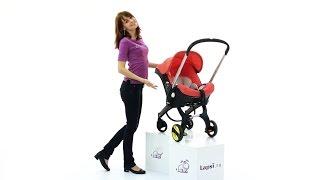 видео Отзывы мамы о коляске-автокресле Doona от SimpleParenting