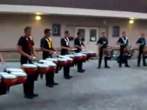 The Cavaliers 2008 samurai drum break