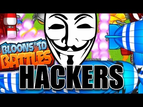 HACKERS, HACKERS EVERYWHERE! | Bloons TD Battles | Insane Highscore Arena Battles!