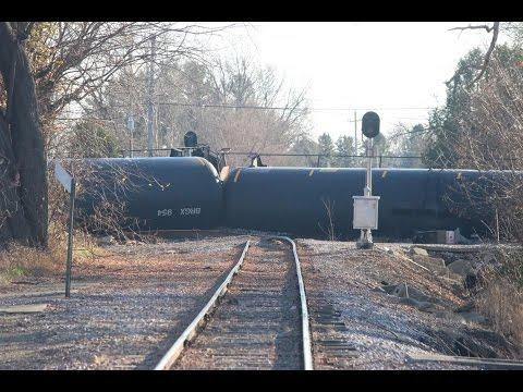 Train Derailment Prompts Evacutions In Wisconsin UPDATE