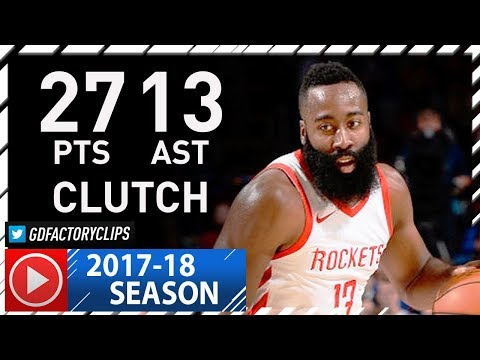 James Harden Full Highlights vs Sixers (2017.10.25) - 27 Pts, 13 Ast, CLUTCH!