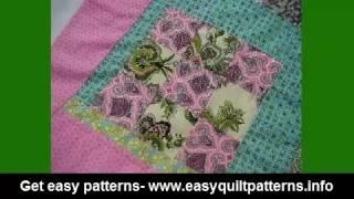 basic quilt patterns free scrap quilt block ideas