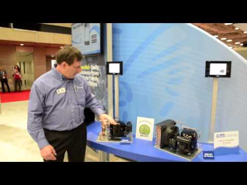 AHR Expo 2013 with Propane compressors by Tecumseh