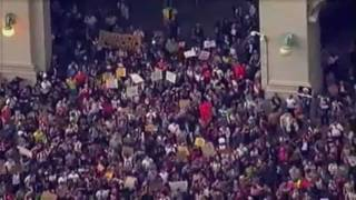 Occupy Wall Street: March on Police Plaza