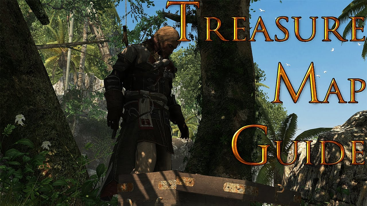 Assassins Creed 4 Black Flag Treasure Map Locations 70 405 Tulum Reward 4000 Reales Youtube