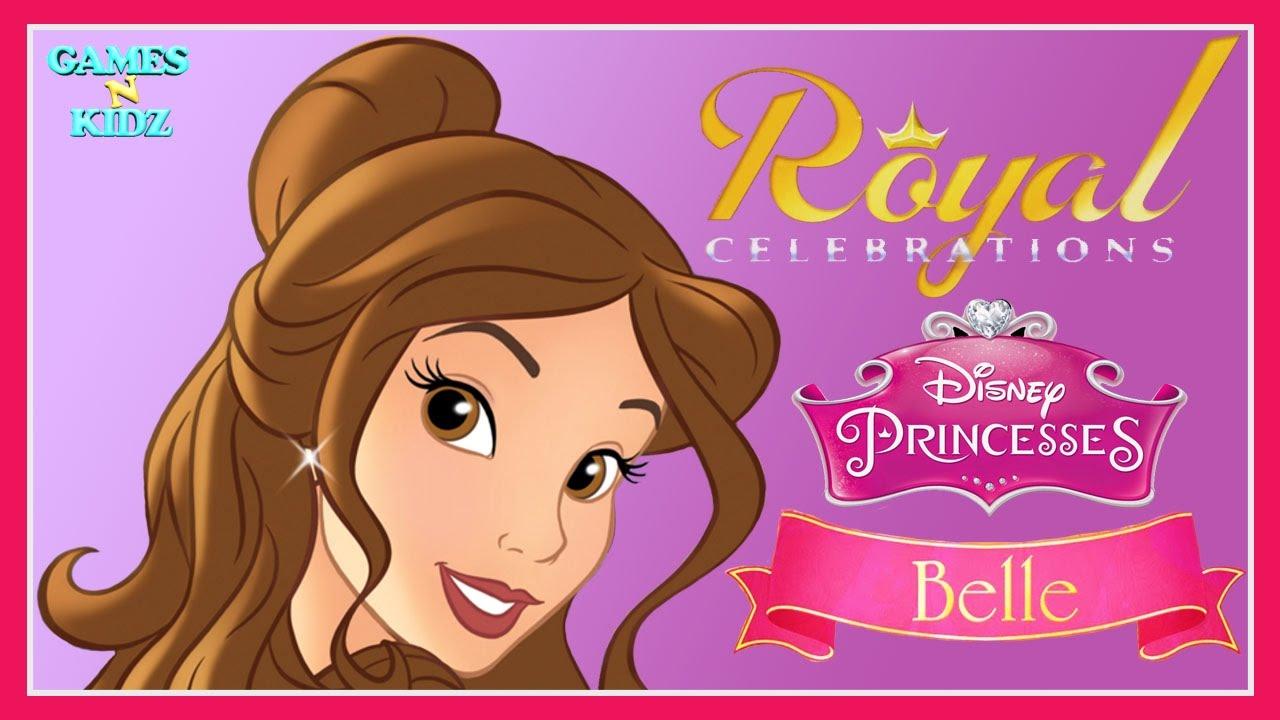 Download Disney Royal Celebrations: Belle Tea Party - Disney Princess App For Kids