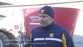 Wozy paszowe Sano gwarancją sukcesu w hodowli. GR Państwa Ciotucha.