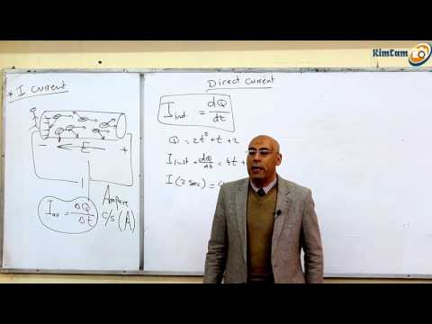 Lecture 7 part 1 - Direct Current ( Electric current & Resis