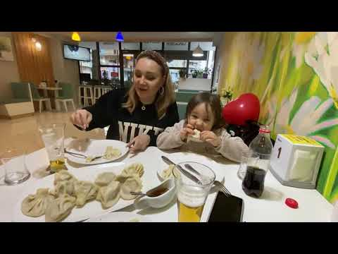 Как кушать хинкали ☺️Батуми