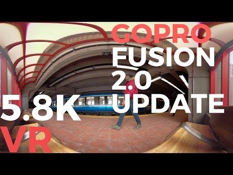 VR | GoPro Fusion 2 0 Update 5 8K DEMO #360 - YouTube