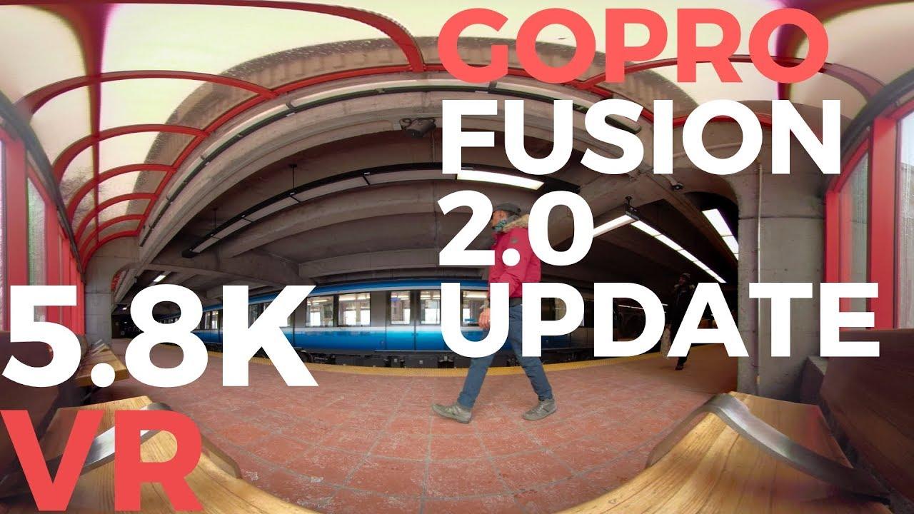 VR | GoPro Fusion 2 0 Update 5 8K DEMO #360