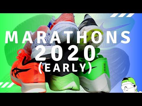 Marathon Racing Shoe Options early 2020