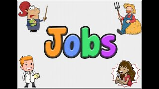 English Song for Kids - Be Yourself (Jobs)