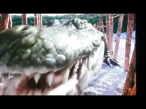 Prehistoric Park Trapping the Deinosuchus