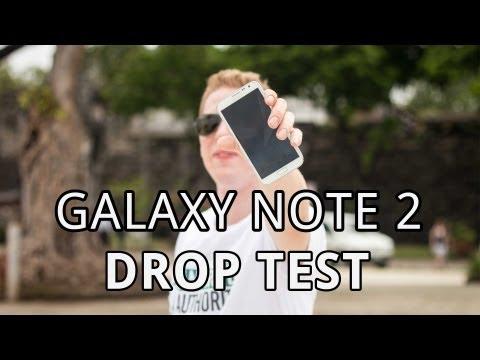 Samsung Galaxy Note 2 - Drop Test