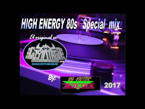 HIGH ENERGY special mix 80s vol 1 by COSMOTRON Discotheque