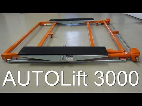 Автомобильный подъемник AUTOLift 3000 - передвижной механический подъемник для авто