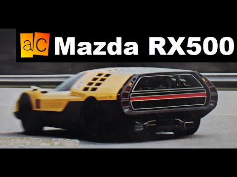 mazda 39 s original rx vision rx500 youtube. Black Bedroom Furniture Sets. Home Design Ideas