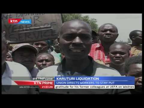 KTN Prime September 14th 2016: Karuturi flower farm faces liquidation
