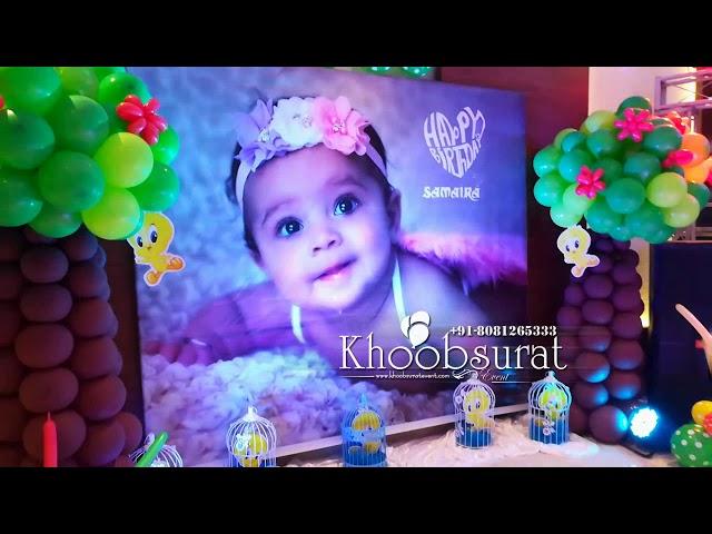khoobsurat event samaira 1st birthday at sky hilton