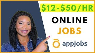 APPJOBS.COM Legit Work From Home Jobs and Side Hustles! | Online, Remote Work-At-Home Jobs 2019