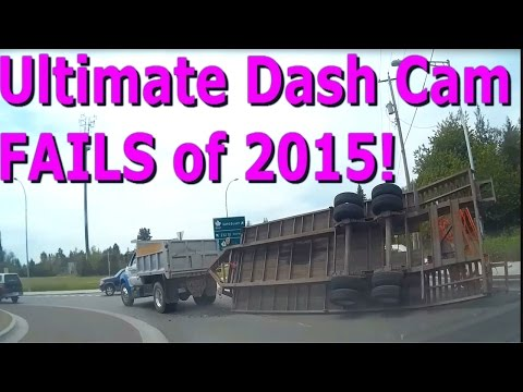 Ultimate Dash Cam Fails of 2015 - Vancouver , BC Canada (Car Camera)
