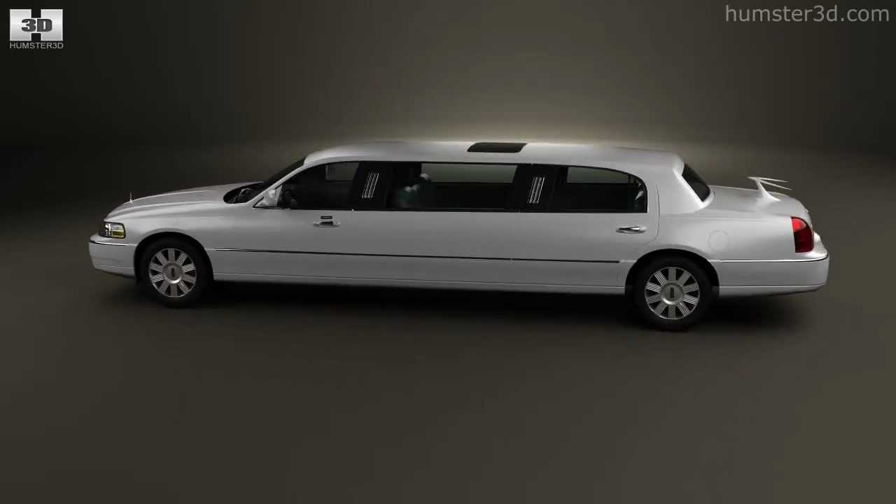 Lincoln Town Car Limousine 2011 By 3d Model Store