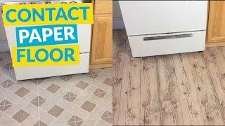 Contact Paper Floor You