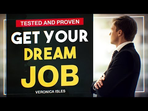 Exact Steps to Get Your DREAM JOB - Guided Visualization - Law of attraction