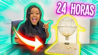 24 HORAS COMENDO O QUE O BINGO MANDOU !!!