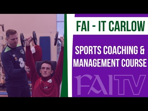IT Carlow FAI Sports Coaching & Management courses