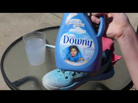 THE BEST AND EASIEST WAY TO CLEAN YOUR SHOES/ CLEANING MY KOBES