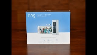 Ring Video Doorbell Pro Unboxing and Installation Video