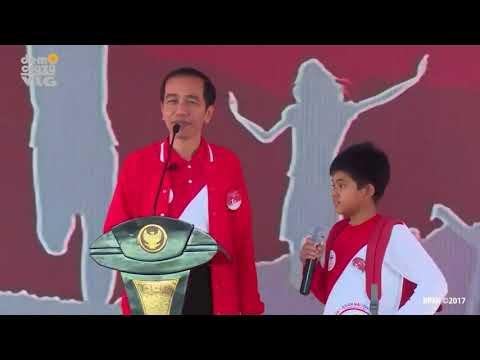 Cita-cita Saya Jadi Youtuber Pak! Jokowi Pun Ngakak...