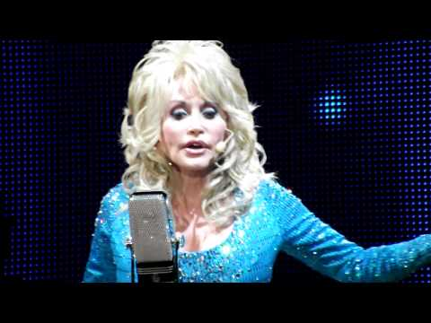 dolly parton - heaven let your light shine down. (live better day tour 2011 new)