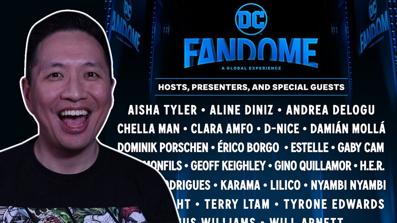 DC FanDome: Full List of Cast Members, Creators, and Guests Revealed