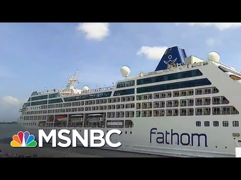 U.S. Cruise Ship Arrives In Havana, Cuba For Historic Visit | Morning Joe | MSNBC