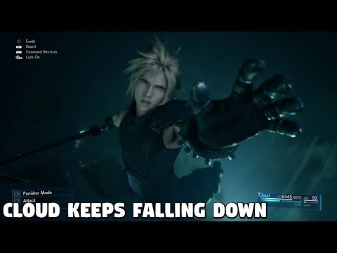Final Fantasy 7 REMAKE - Cloud Keeps Falling Down