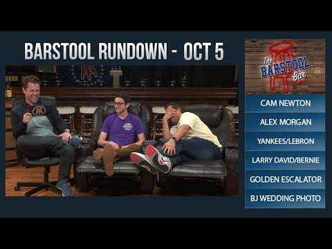10-05-17 Barstool Rundown