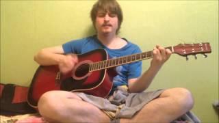 Купил гитару, играю как нуб ,азаза))